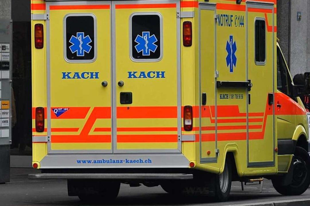 Sechs Menschen wurden verletzt.    Foto: Daniel Gramespacher
