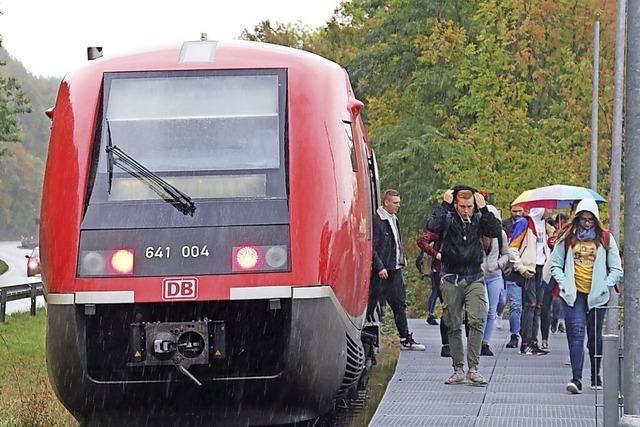 Land fördert die Wutachtalbahn