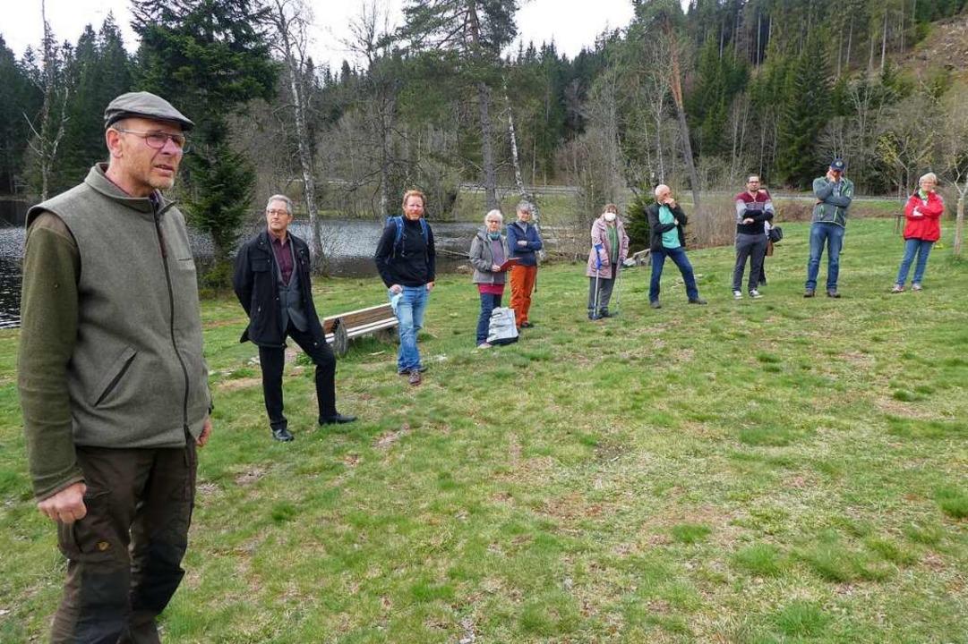 Jens Borchers, Leiter der Fürstlich Fü...tar großen Wohnmobilpark zu errichten.    Foto: Peter Stellmach