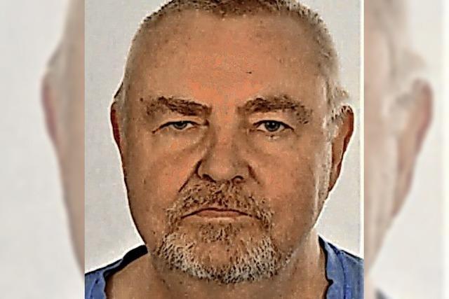 Polizei sucht erneut nach vermissten 69-Jährigen aus Schopfheim