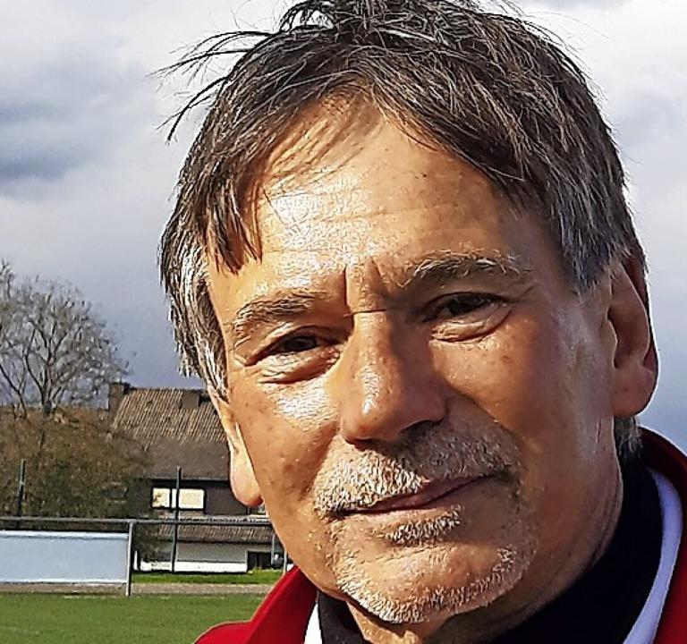 Nachwuchstrainer auf ewig: Volker Egy, jugendliche 70.  | Foto: Johannes Bachmann