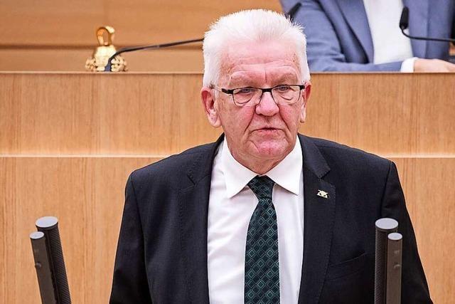 Das dritte Kabinett Kretschmann ist das größte