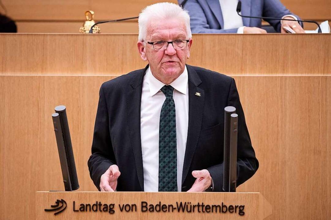 Winfried Kretschmann  | Foto: Christoph Schmidt (dpa)