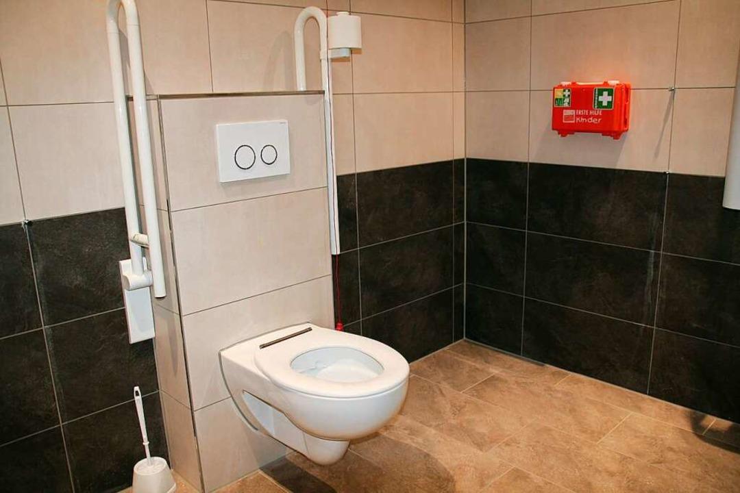 Das Bürgerhaus bekommt ein barrierefreies WC.    Foto: Marlies Jung-Knoblich