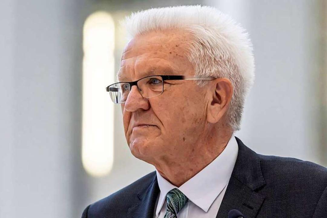Winfried Kretschmann, Ministerpräsident    Foto: Arnulf Hettrich via www.imago-images.de