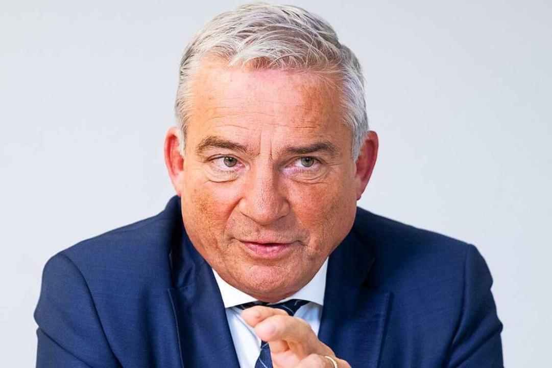 Thomas Strobl, CDU/Inneres    Foto: Bernd Weissbrod
