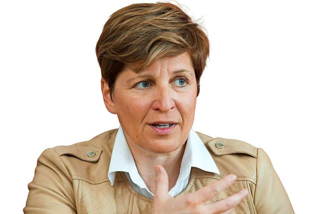 Nicole Razavi, CDU/Wohnen    Foto: Sebastian Kahnert