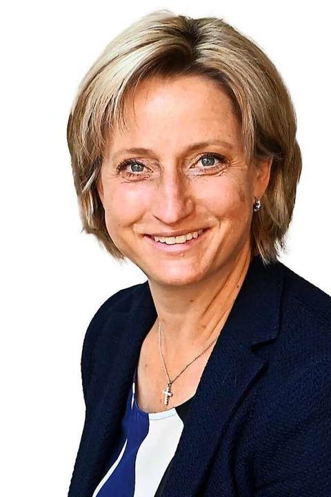 Nicole Hoffmeister-Kraut, CDU/Wirtschaft    Foto: Uli Deck