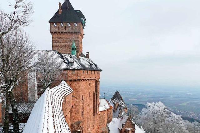 Ab in die Welt der Ritter auf der Hohkönigsburg im Elsass