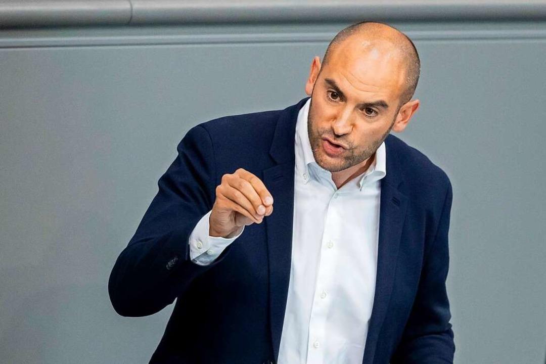 Danyal Bayaz wird Finanzminister &#821...er von Winfried Kretschmann gehandelt.    Foto: Christoph Soeder (dpa)
