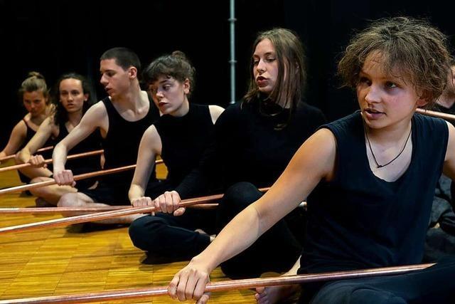 Tempus fugit und Burghof präsentieren ein Musiktheaterprojekt
