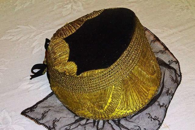 Die goldene Trachtenhaube wurde vom Kinzigtal ins Schuttertal importiert