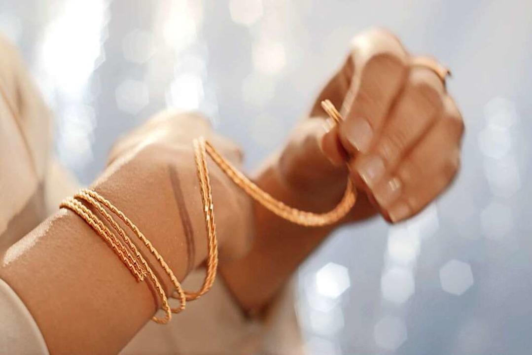 Ein Traum in Gold für viele Frauen: Da... Neu bei Juwelier Nittel im Sortiment.    Foto: Wellendorff