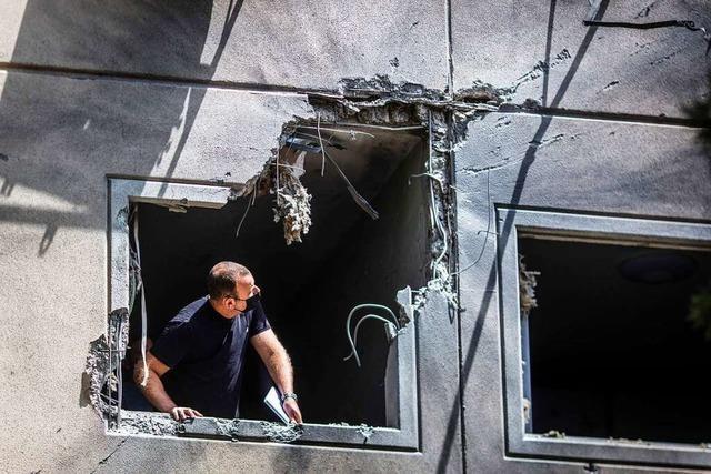 Raketenbeschuss und ein Toter bei nächtlichen Unruhen in Israel
