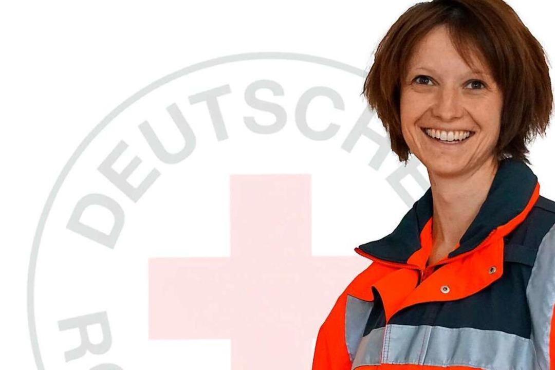 Marion Benutz ist Bereitschaftsleiterin beim DRK-Ortsverein Titisee-Neustadt    Foto: Marion Benitz
