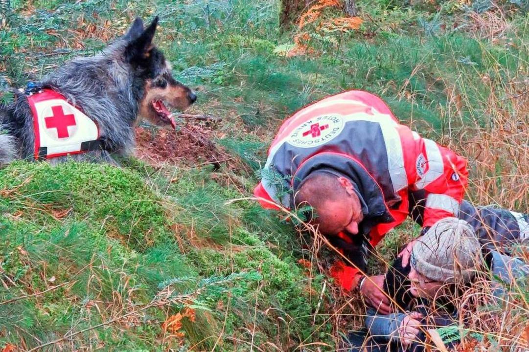 Armin Faller ist Mitglied der Rettungshundestaffel    Foto: Armin Faller