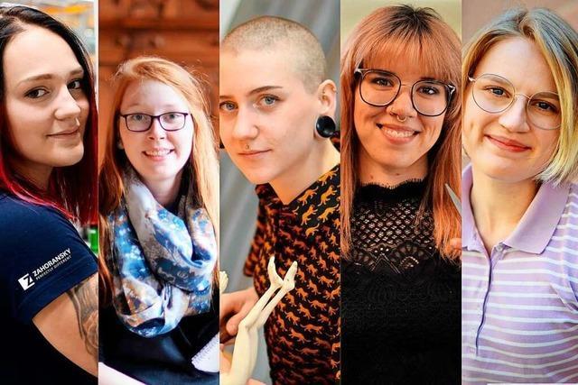 Fünf junge Frauen aus Südbaden erzählen, was sie beruflich und privat antreibt