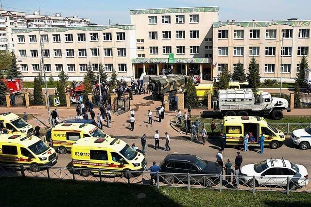 Mehrere Tote bei Angriff auf Schule im russischen Kasan
