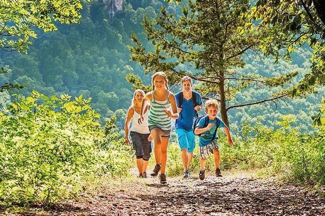 Familienwanderungen auf der Schwäbischen Alb