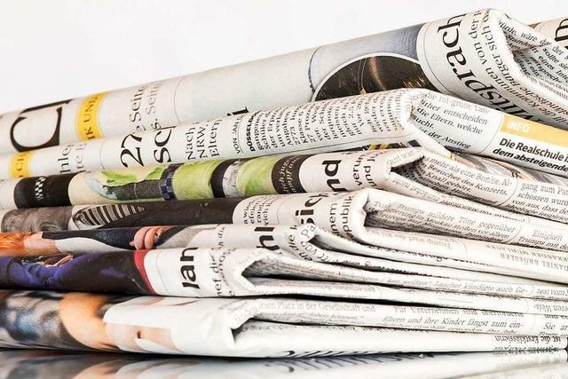 Zeitungshäuser in Karlsruhe und Baden-Baden fusionieren