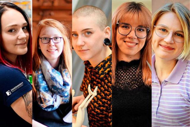 Fünf junge Frauen erzählen, was sie beruflich und privat antreibt