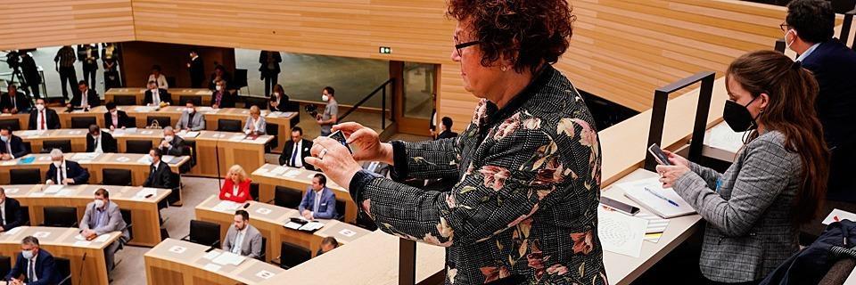 Kretschmann hat den neuen Landtag in Stuttgart eröffnet