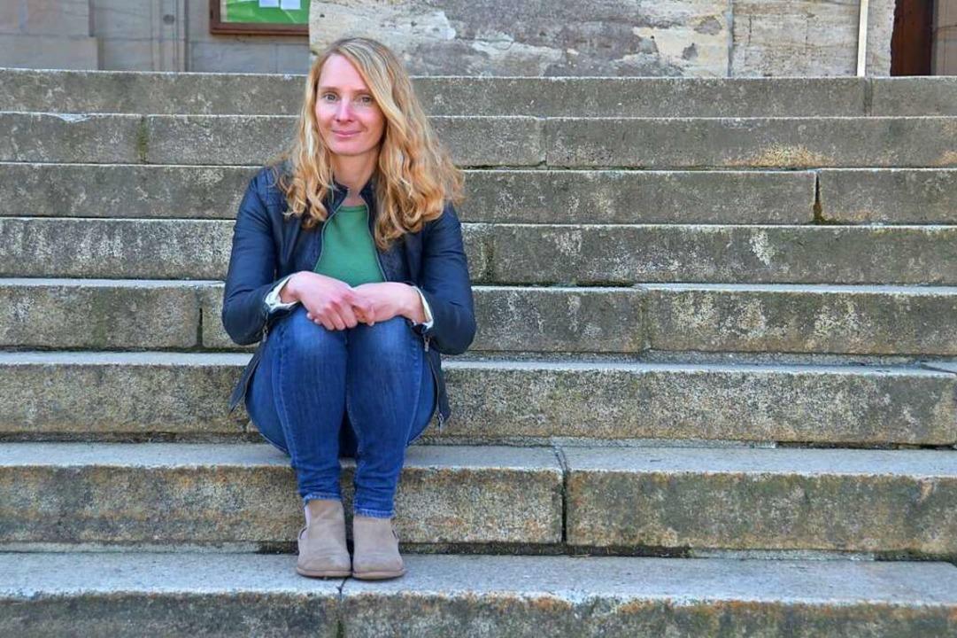 Susanne Gilg ist in der Stadtverwaltun...- und Öffentlichkeitsarbeit zuständig.  | Foto: Sebastian Barthmes