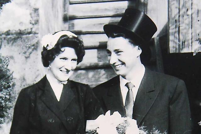Dieses Schopfheimer Ehepaar feiert heute eiserne Hochzeit