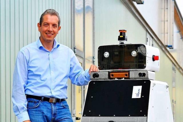 Der Informatiker Wolfram Burgard entwickelt Roboter