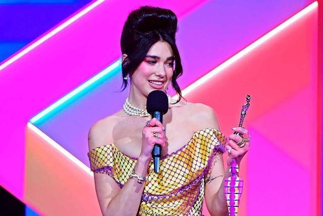 Frauen dominieren Brit Awards – Dua Lipa räumt ab