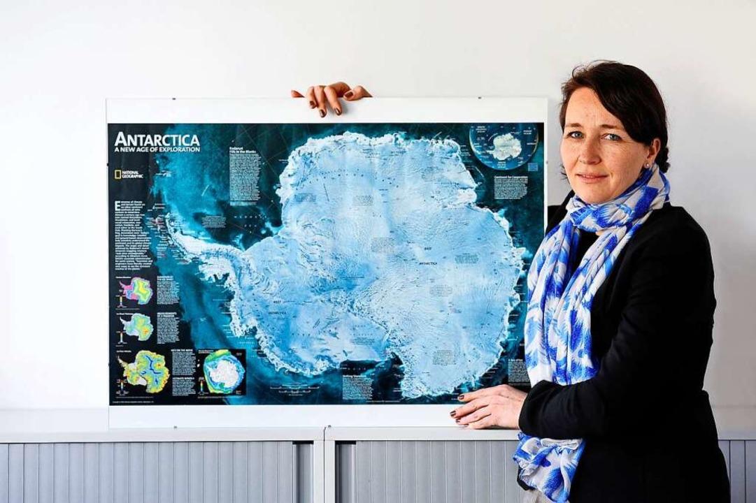 Seit 50 Jahren verhandeln die Nationen...rktis,  Silja Vöneky berät sie dabei.     Foto: Thomas Kunz