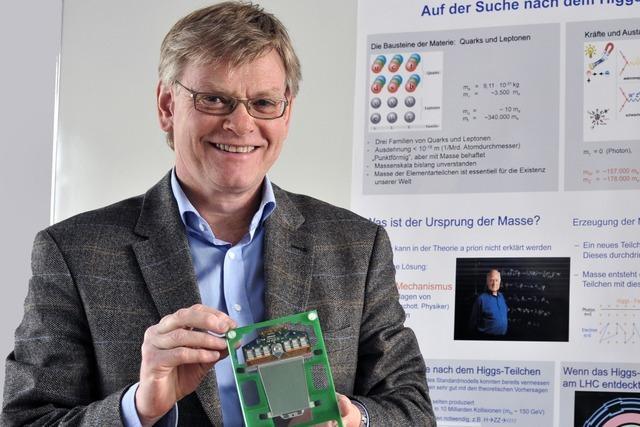 Der Experimentalphysiker Karl Jakobs gehört zu den Entdeckern des Higgs-Teilchens