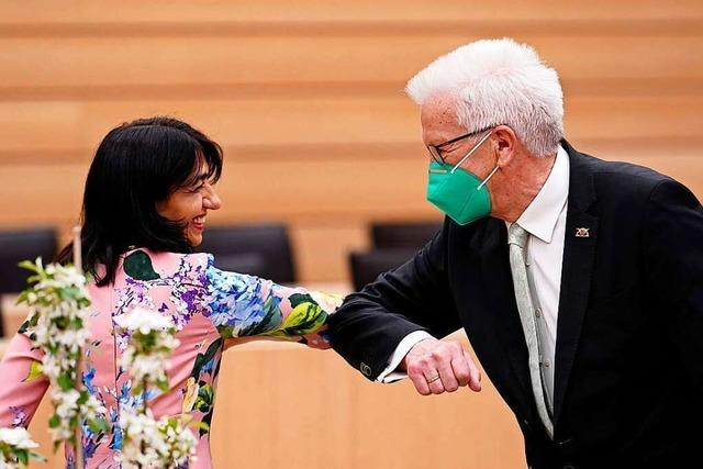 Kretschmann startet im Südwesten mit Grün-Schwarz in dritte Amtszeit