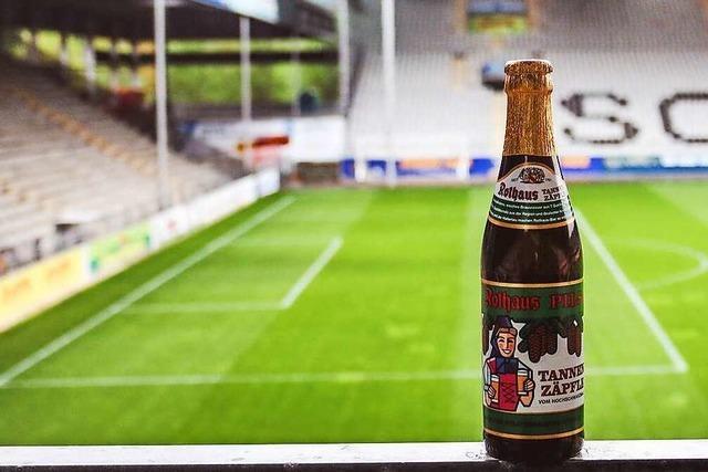 SC Freiburg und Rothaus verschenken Freibier an Fans