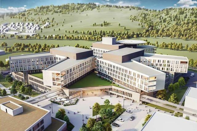 Lörrach erteilt die Baugenehmigung für das Zentralklinikum