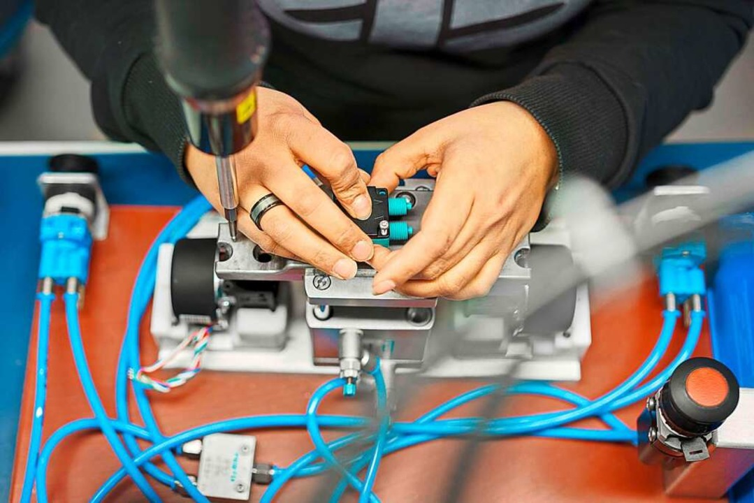 KNF-Pumpen sind weltweit gefragte Präzisionsmaschinen.  | Foto: KNF