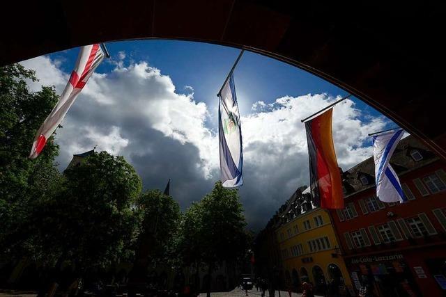 Freiburger Rathaus hisst die Flaggen von Israel und Tel Aviv – aus harmlosen Gründen