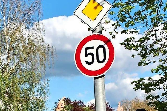 Ein Bürger kämpft für Tempo 50 zwischen Kuhbach und Reichenbach