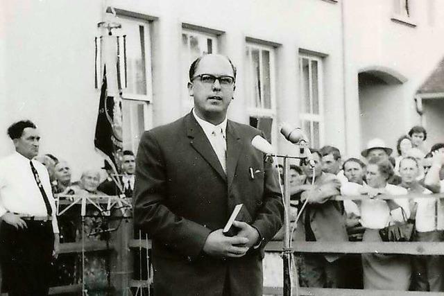 Das Gedenken an Ernst Löffel soll in Meißenheim wieder auf die Agenda