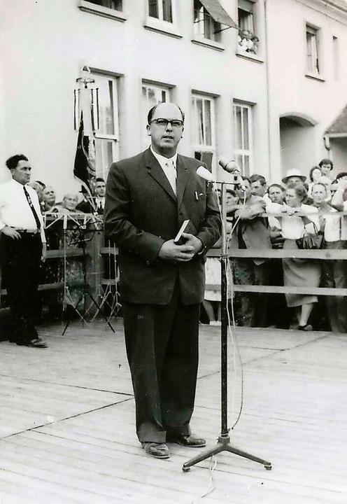 Ernst Löffel (undatiertes Foto) war vo...bis 1969 Bürgermeister von Meißenheim.  | Foto: privat