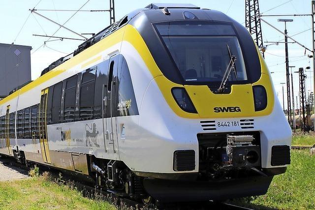 Ab 13. Juni fahren die S-Bahnen am Kaiserstuhl nur noch elektrisch