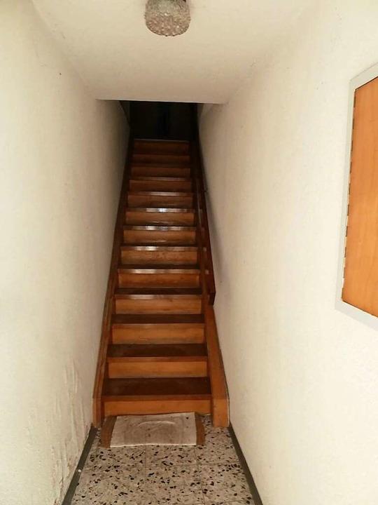 Die steile Treppe im Haus Schlenker in Löffingen.  | Foto: Heidrun Simoneit