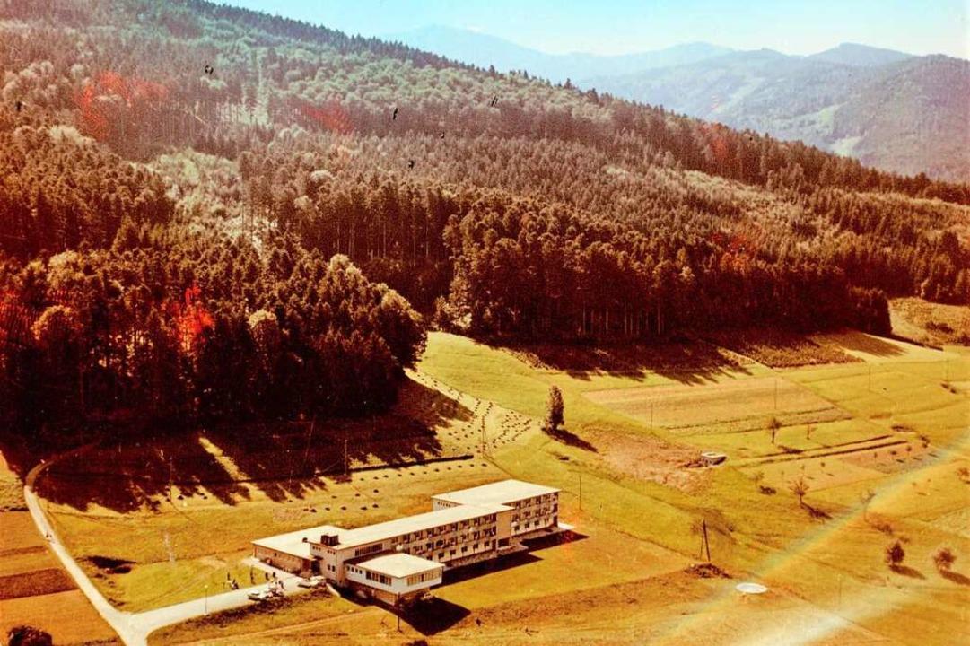 Das Kurheim in den Anfangsjahren    Foto: BDH-Klinik Elzach