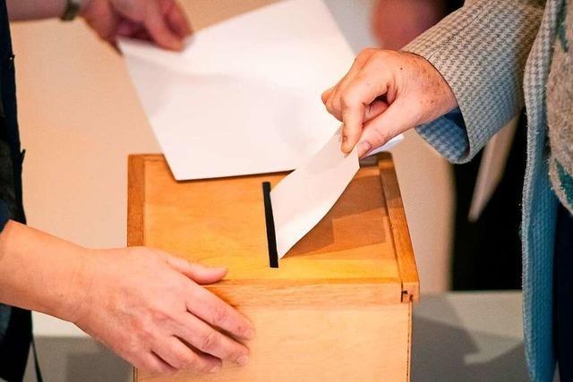 Für die Bürgermeisterwahl hat sich ein zweiter Kandidat beworben – zu spät