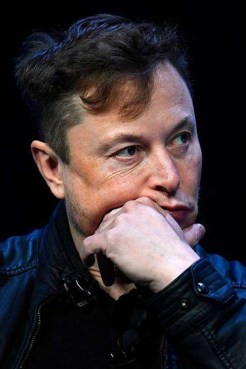 Tesla-Chef Elon Musk    Foto: Susan Walsh (dpa)