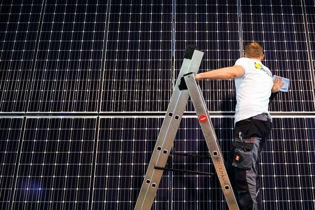 In Denzlingen werden Solarmodule auf den Dächern des Gewerbegebiets zur Pflicht