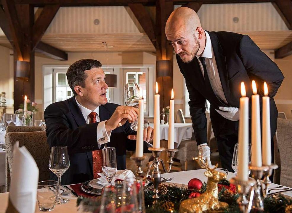 Wieder einmal in einem Restaurant ein ...zu genießen, darauf freuen sich viele.  | Foto: Ingo Wagner