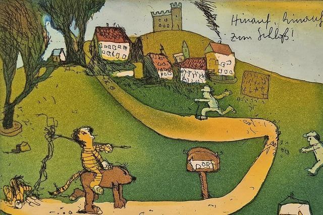 Janosch zu Gast im Schloss Tiengen