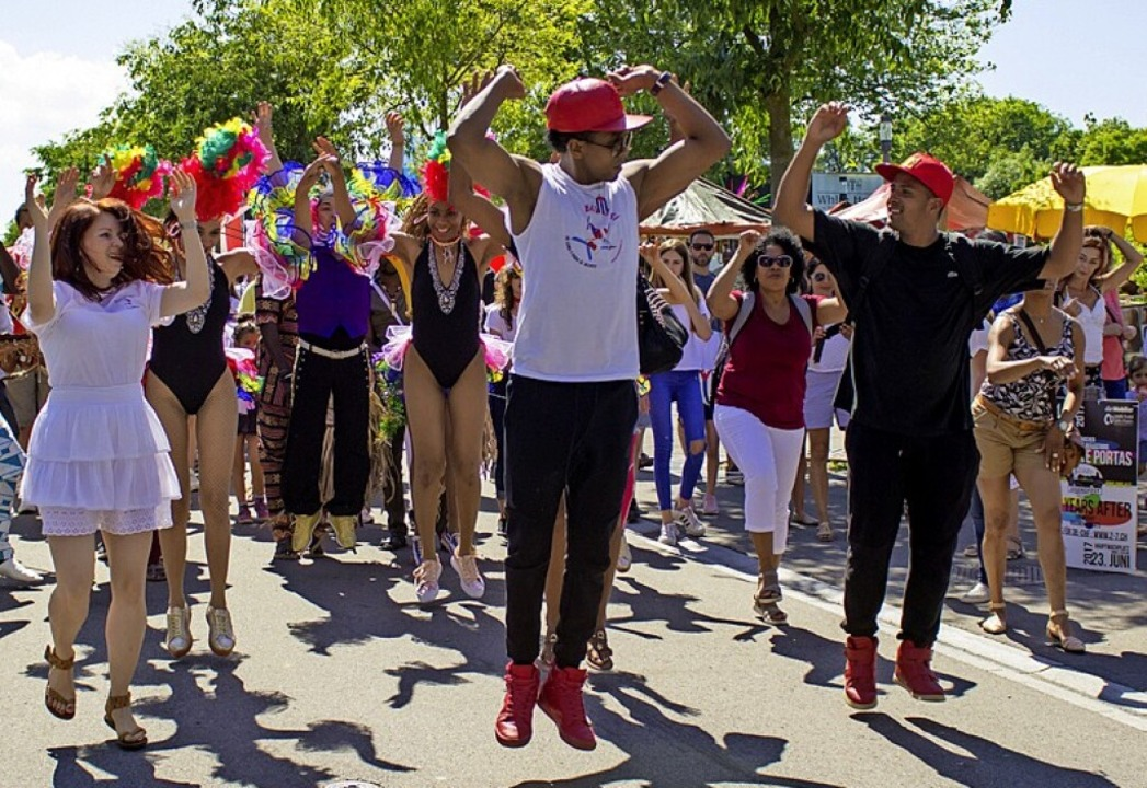 Ein großes Festival, wie auf diesem Fo...t die Corona-Pandemie noch  nicht zu.     Foto: Naris Schnegg Productions / MC P