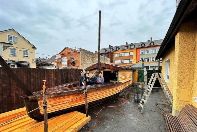 Mick Gäntzel eröffnet in Lörrach einen Biergarten mit kleinem Markt